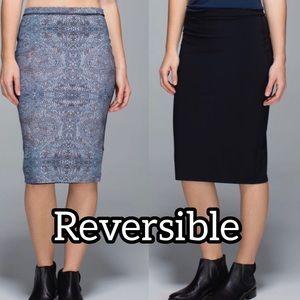 Lululemon REVERSIBLE Twice as Nice Skirt